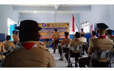 Musyawarah Dewan Ambalan, SMK SPM Nasional Purwokerto tahun pelajaran 2020/2021