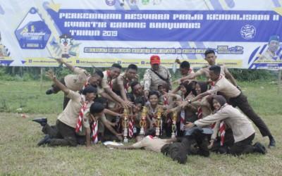 Pramuka SMK-SPM Nasional Purwokerto Berhasil Meraih Pretasi di Perkemahan PERSADA II tahun 2019